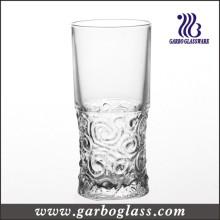 Vasque en verre gravé
