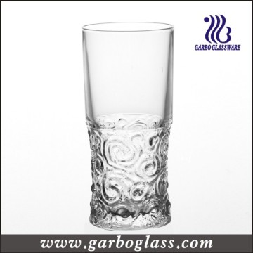 Engraved Glass Drinking Tumbler