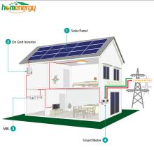 Bluesun 15 kw hommage systèmes de panneaux solaires pour réseau domestique