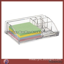 Transparent Multifunctional Acrylic/Lucite Napkin/Tip card Holder for Hotels