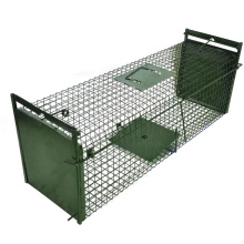 Stainless steel galvanized multi catch big mouse aquaculture animal cat trap cage