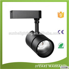 CE ROHS Certification High lumen 20w 30w 40w 50w cob track light AC85-265V led track light