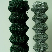 Hochfester PVC-überzogener Kettenglied-Zaun