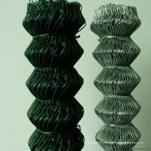 Cerca de elo de corrente revestida de PVC de alta resistência