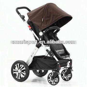 Europa estilo integrado de lujo cochecito de bebé fábrica