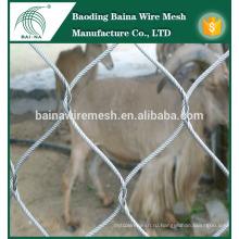 Нержавеющая забор защита проволока сетка забор панель производство