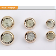 Fashion UV Plating Resin Button for Shirt or Coat BA60374