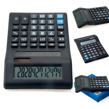12 dígitos Dual Power Dual Display Calculator