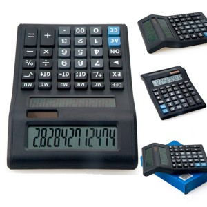 12 Digits Dual Power Dual Display Calculator