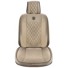Car Seat Cover 3D Universal Shape with Viscose Fabric Beige