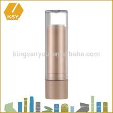 Envases cosméticos de encargo de la venta caliente del plástico vacío del bálsamo del labio
