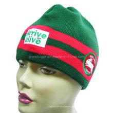 Moda de lana Beanie Hat para las damas