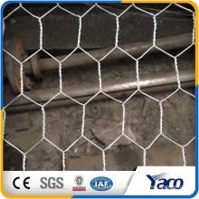 Yachao hot sale 19 gauge galvanized hexagonal wire mesh