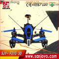 Walkera F210 3D Edition 2.4GHz HD Cámara F3 3D derribando la pared Racing Drone quadcopter Con transmisor DEVO 7