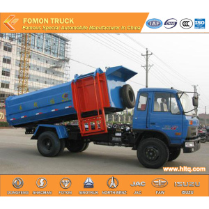 DONGFENG 4x2 10m3 side loader garbage truck
