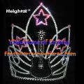 8inch Guitar Star Rhinestone Crowns