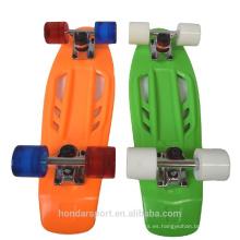 2016 nuevos patines del plástico del crucero de la calle del diseño mini para la venta