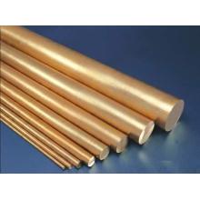 Barres de cuivre, cu bars, barres rondes en cuivre, barres / barres de cuivre cylindriques, tige de cuivre ronde