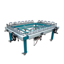 Máquina de estiramento de impressão de serigrafia industrial