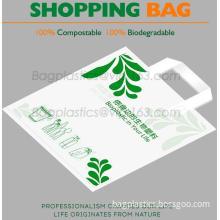 100% COMPOSTABLE BAG, 100% BIODEGRADABLE SACKS, D2W BAGS