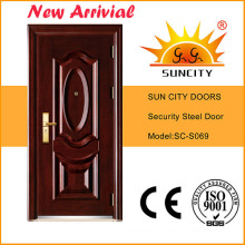 High Quality Main Entrance Steel Door Design