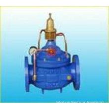 Válvula de descarga de presión 500X y válvula de sostenimiento