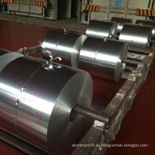 Lámina de aluminio para embalaje de contenedores de alimentos