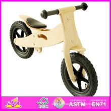 2014 Éducatifs En Bois Jouets Kid Vélo, Haute Qualité En Bois Randonnée Enfant Vélo et Vente Chaude Solde En Bois Kid Vélo W16c055