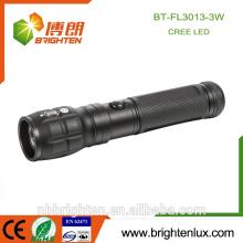 Fabrik Versorgung Multifunktions-Aluminium Matal 3 * AAA Strahl Zoomable Handheld Notfall Cree XPE Langstrecken-Taschenlampe