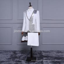 2018 New Arrival Off white Men Suits 5 pieces Swallowtail Factory Wholesale