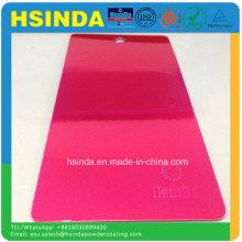 Schnelle Lieferung Helle Epoxy Polyester Süßigkeiten Rosa Pulver Beschichtung
