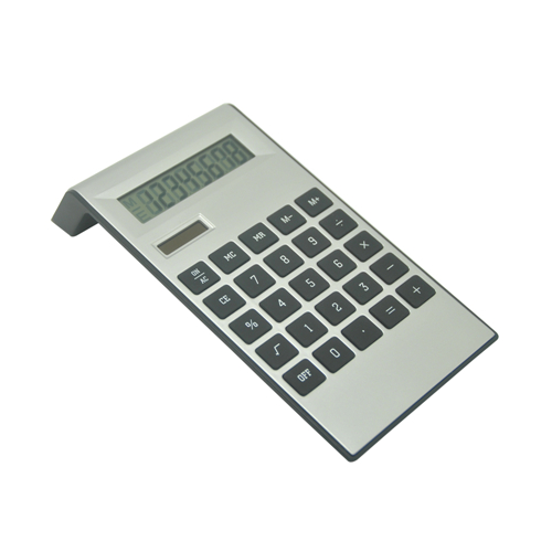 8 Digits Silver Calculator