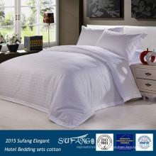 2015 hotel de venta directa 100% algodón 300 TC juego de cama