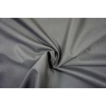 Полосатая твид шерстяная шерстяная ткань