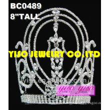 beauty rhinestone pageant crowns
