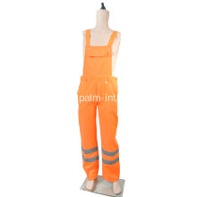 Fluorescent Orange Bib Pants