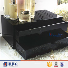 Cube Black Acrylic Jewelry Ящик для макияжа для продажи