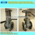 Z41h-16c GOST brida tipo DN100 válvula de compuerta para gas de petróleo kazajstán
