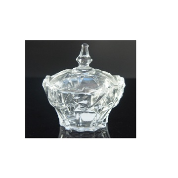 Tower Model Glass Candy Jar