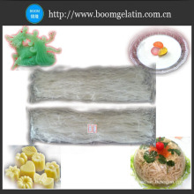 Tiras de Agar comestible de la categoría alimenticia de la fuente de la fábrica