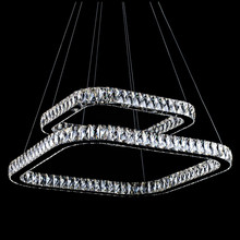 OEM Supply for Large Modern Chandeliers rectangular contemporary crystal ceiling chandelier export to Indonesia Suppliers