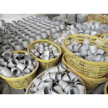 Reductor de acero inoxidable Butt accesorios de tubería soldada con CE