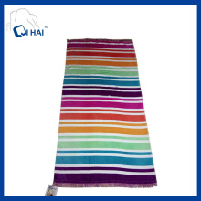 Printing Cotton Tassels Beach Towel (QHB7735)