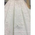 Ivoire de haute qualité Appliqued manches longues 2018 robe de mariée robe de mariée boule