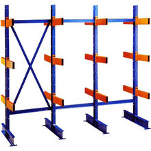 Nanjing Jracking hot sale H steel aluminium storage rack powder coated aluminum pipe rack