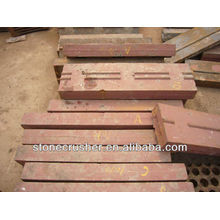 Blow bars for PF 1007 impact crusher