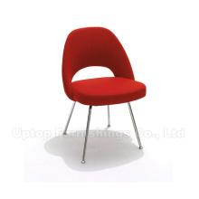 Cadeira lateral executiva Eero Saarinen com pernas metálicas (SP-HC371)