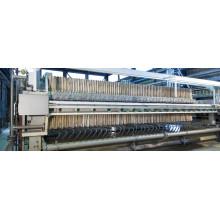 Tissu de filtre à plaques de pression avec du matériel tissé et non tissé