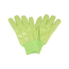 Interlock Liner Handschuh mit PU voll getaucht, Strickhandgelenk