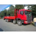 JAC 270hp 30tons flatebed transport truck export